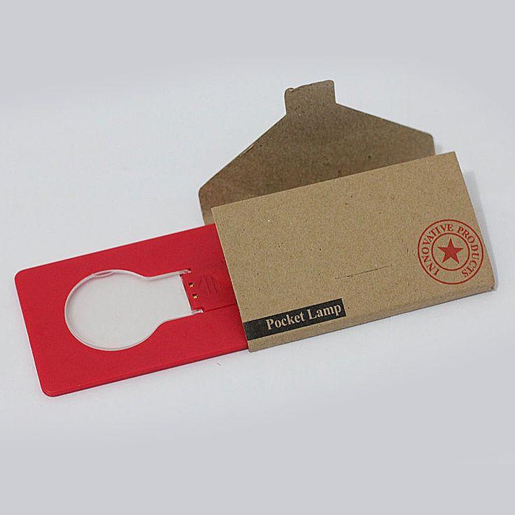 LED Pocket Light Merah Rp 20.000