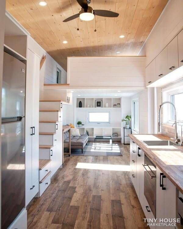 Modern And Luxurious Big Tiny House For Sale In Quebec Modern