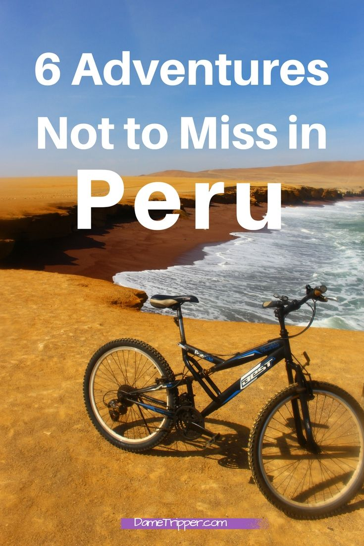 Peru has a lot to see and do (ahem Machu Picchu, I know) there are some other things you definitely shouldn't miss!