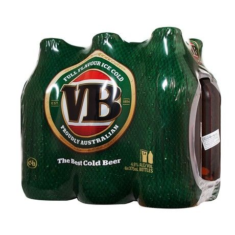 VB Victoria Bitter Beer   RedMart Lager Beer Selection. Arguably Australia's best cold beer. It is full flavoured, with a clean, bitter finish. This great tasting beer has a tradition of rewarding hard work and hard play, which dates back to the 1890s.
