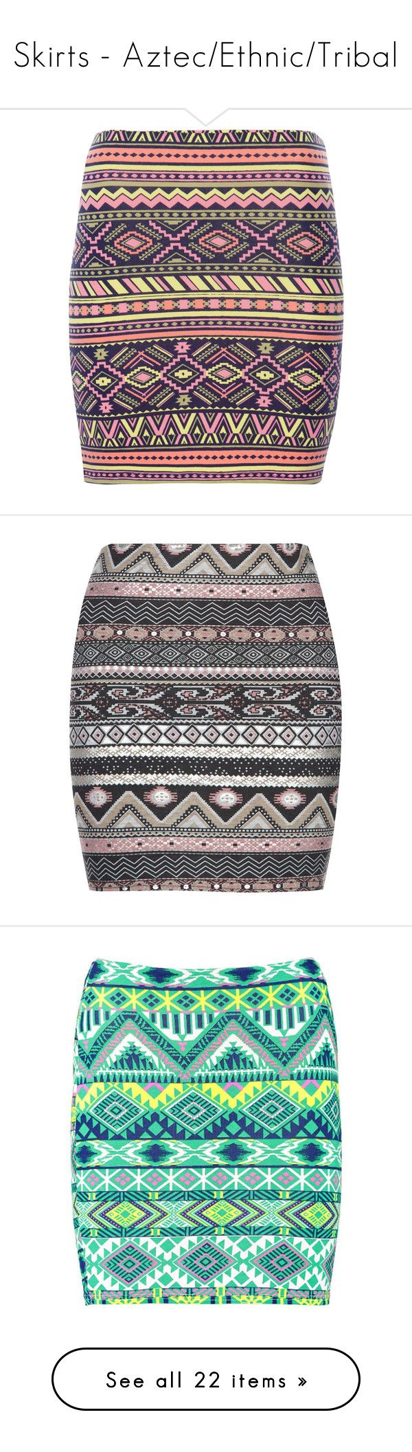 """Skirts - Aztec/Ethnic/Tribal"" by giovanna1995 ❤ liked on Polyvore featuring skirts, saias, bottoms, faldas, jupes, indigo, tribal skirt, purple skirt, tribal print skirt and tube skirt"