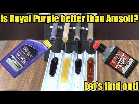 2550 Is Royal Purple Better Than Amsoil Let S Find Out
