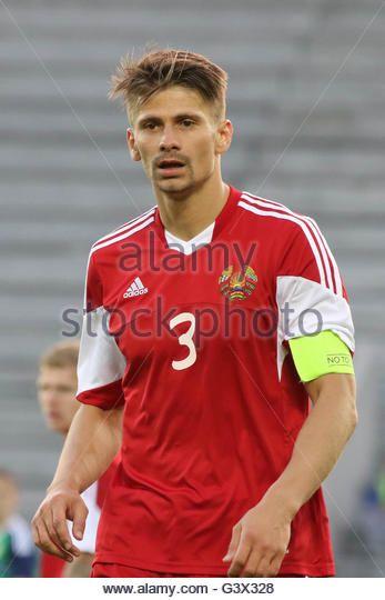 Belfast, Northern Ireland - 27th May 2016. Northern Ireland 3 Belarus 0 (Friendly). Alexander Martynovich (3) Belarus - Stock Image