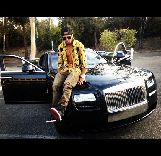 Romeo Miller's exotic car collection on Instagram