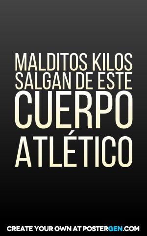 MALDITOS KILOS SALGAN DE ESTE CUERPO ATLÉTICO