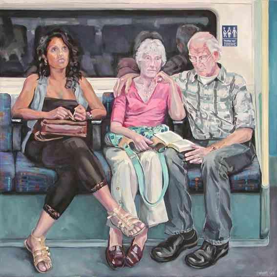 Selina, Angela, Michael by Ewing Paddock