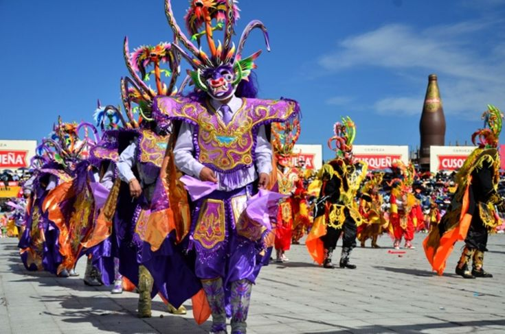 A Colorful Dance Act in the Festival