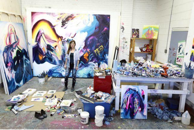 Erin Loree upsizes her art; Toronto Star; Image 1 of 7