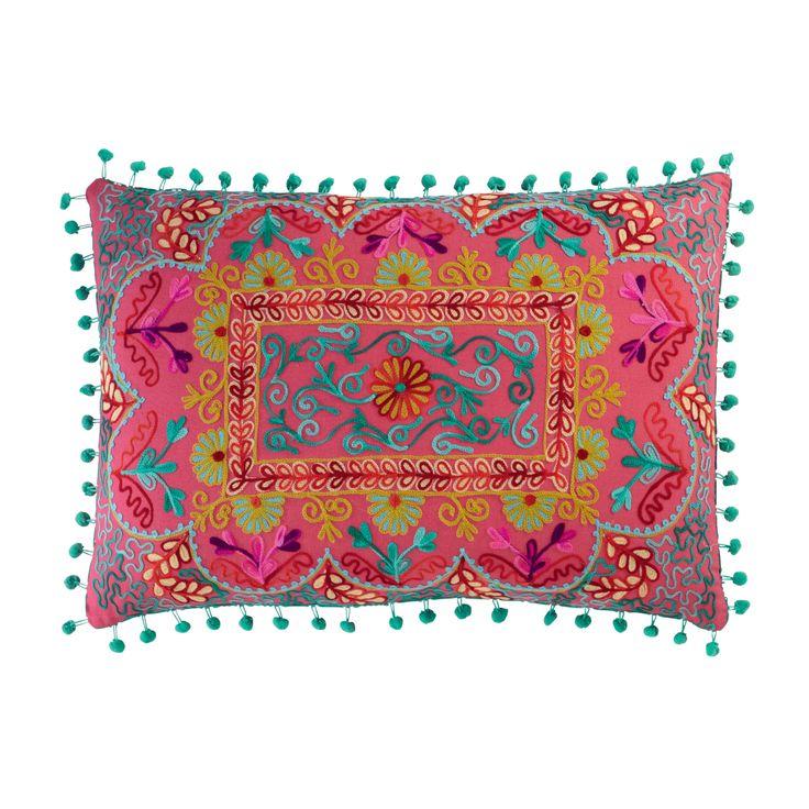 Coussin en coton multicolore 30 x 50 cm COPIACO