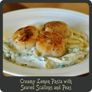 Creamy Fettuccine With Peas And Basil Recipe — Dishmaps