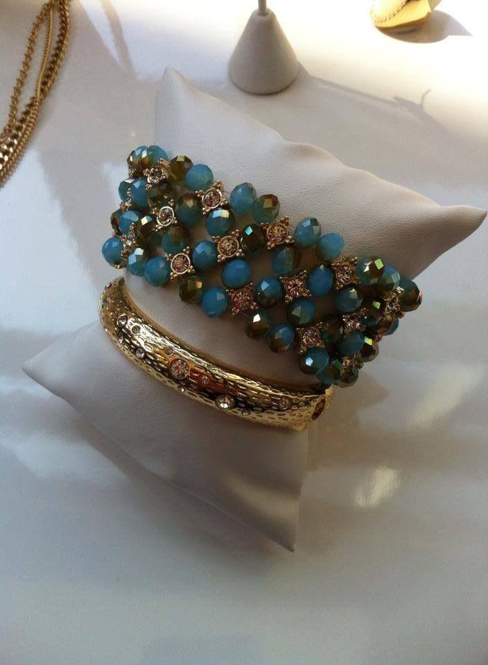 Belize and Marigold bracelets
