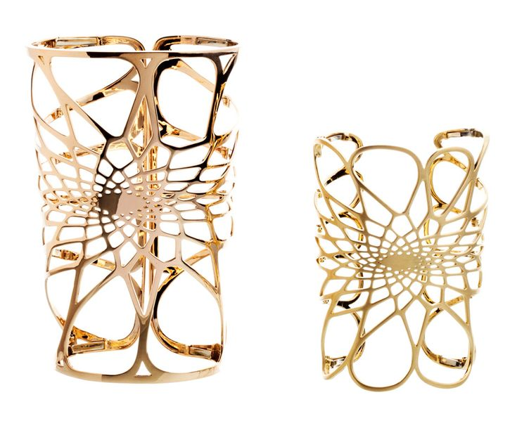 Silene jewellery by Zaha Hadid for Lebanese jewellery house