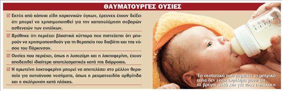 e-mama.gr | Μητρικό γάλα: Φάρμακο για σοβαρές ασθένειες ενηλίκων - e-mama.gr