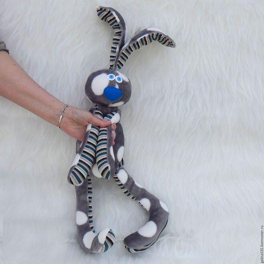 Игрушки животные, ручной работы. Ярмарка Мастеров - ручная работа. Купить Мягкая игрушка зайчик.. Handmade. Мягкая игрушка заяц