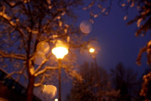luce invernale