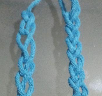Crochet 2: Membuat Tusuk Rantai (Dengan gambar) | Rajutan ...