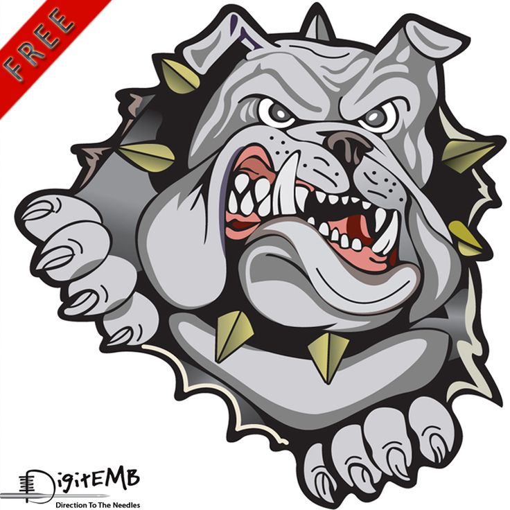 You can get Dangerous Bulldog vector design and many more vector designs for free of cost right away! Formats Available:  .AI, .CDR, .EPS, .SVG, .PDF