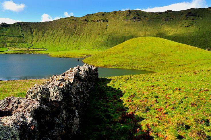 Ilha do Corvo, Corvo Island, Azores, Portugal