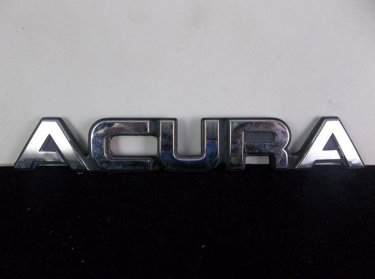 1994 Integra Acura Integra Acura Emblems