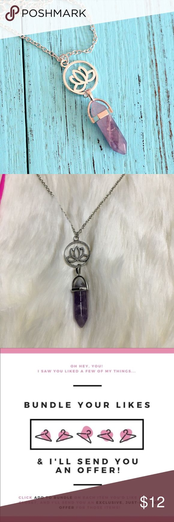 "💥Price Is FIRM💥 ""Lotus Stone"" Boho Necklace Looks more like 2nd picture the necklace. Save more when you bundle just ""add to bundle"" and I'll send u a private offer. COLOR: silver   Brand new ✅ ✨Boutique Item✨ Not accepting OFFERS on INDIVIDUAL ITEMS ❌ No trades ❌ No drama zone❌ No holds❌   💥🔅Prices are FIRM🔅💥    If u have any questions plz ask before purchase is made Free People Jewelry Necklaces"