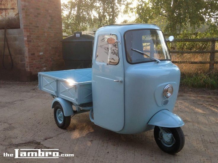 1959 Series 1 Lambretta Li 175 Three-wheeler