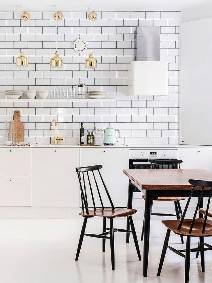 Inspiración años 50 en una vivienda renovada: Home Tour - Nordic Treats