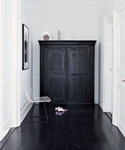 wardrobe doorway to secret room...x LIKE NARNIA!! (except I'd paint it a different colour)