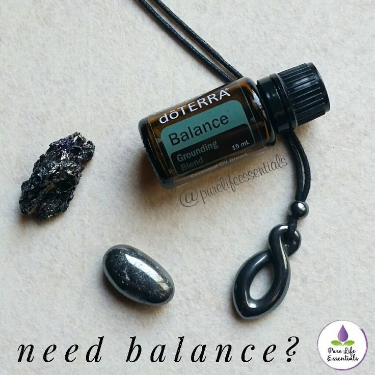 how to make doterra balance blend