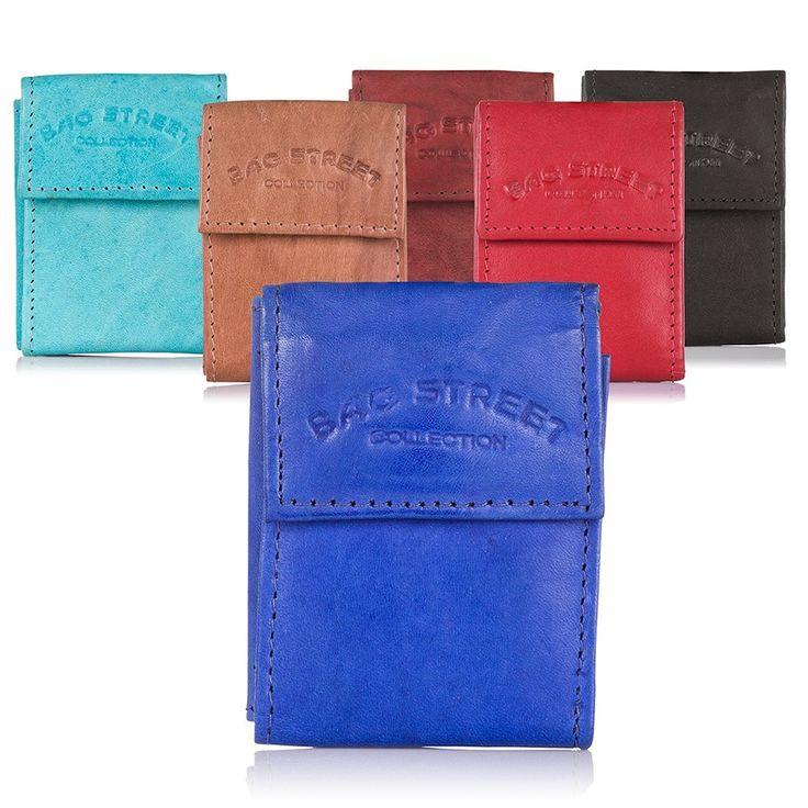 skórzane portfele męskie, portfele unisex na wakacje #smallwallet #miniwallet #bagstreet