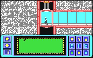 Impossible Mission. Commodore 64 remake in javaScript.