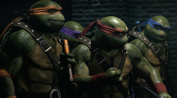 Primera imagen de los Teenage Mutant Ninja Turtles en Injustice 2