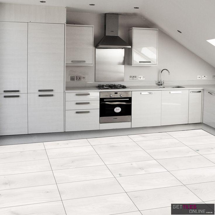 Wooden White Matt 300x600 (Code:00258) - Get Tiles Online