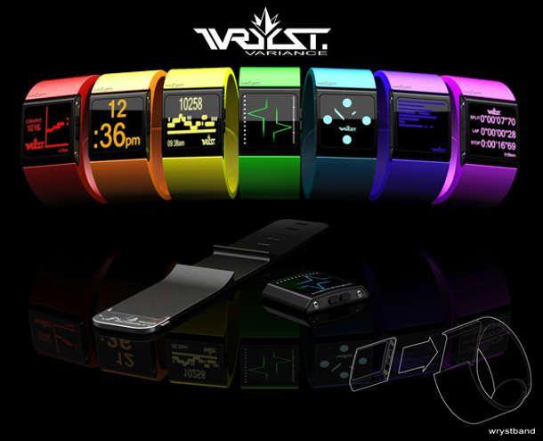 Des concepts de montres intelligentes en attendant l'iWatch