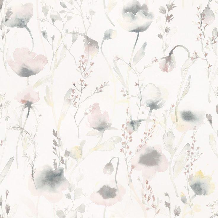 Tredje stora bilden av tapetern Lo Pastell