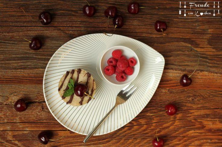 Kirsch Semifredo Cashew Cheesecake - Rezept vegan - Freude am Kochen
