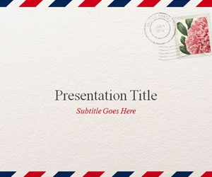 147 best powerpoint templates images on pinterest ppt template airmail powerpoint template free ppt template design free download for presentations on postal mail toneelgroepblik Choice Image
