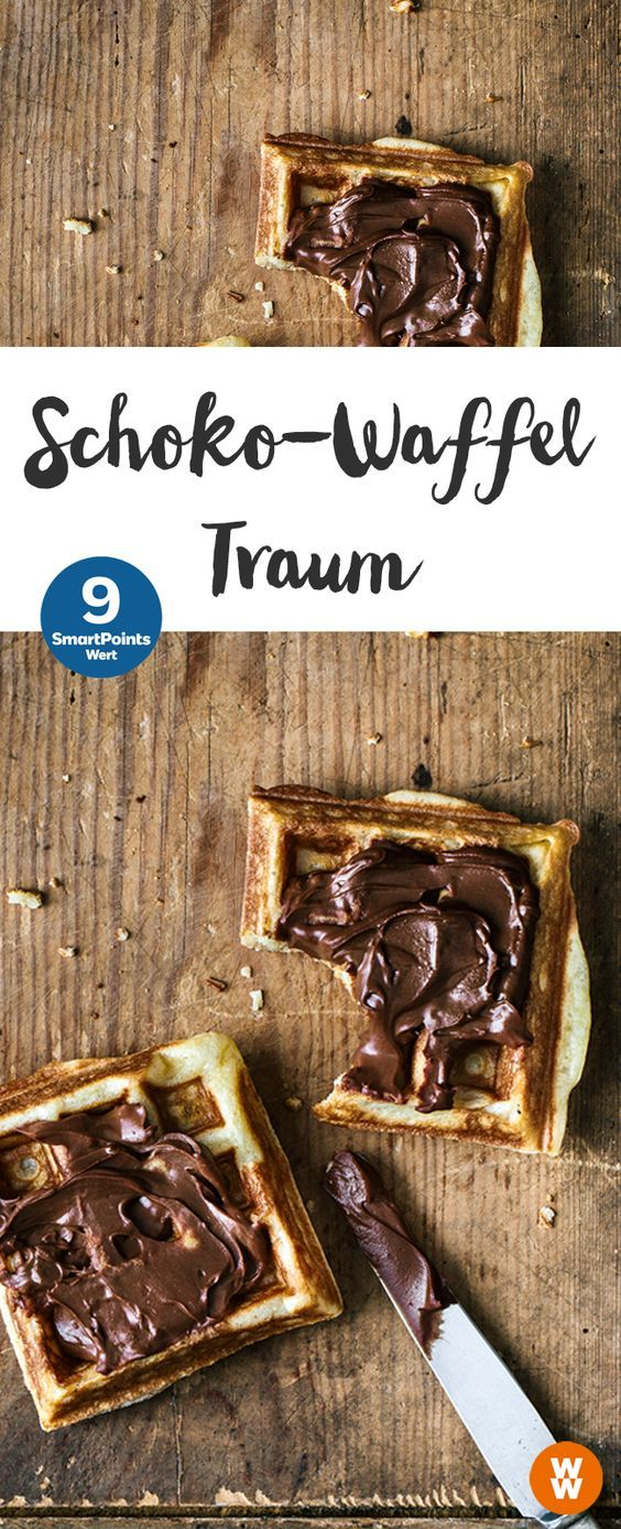 Schoko-Waffel-Traum | Weight Watchers, 9 Portionen, 10 SmartPoints/Portion, Weight Watchers