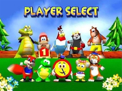 YES! Diddy Kong Racing!