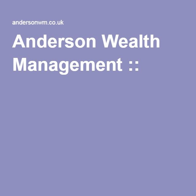 Anderson Wealth Management ::