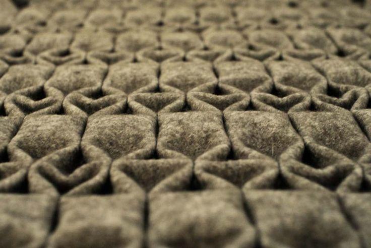 Yfasmatik, a felt folding technique