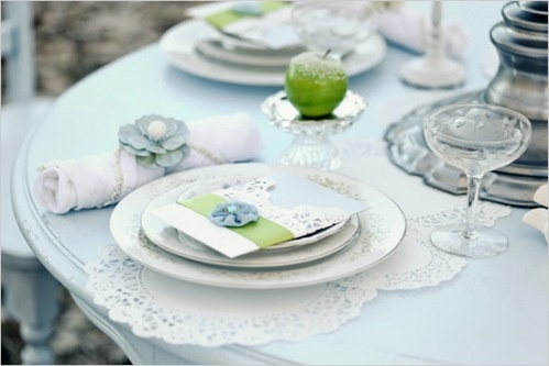 Doily Placesetting