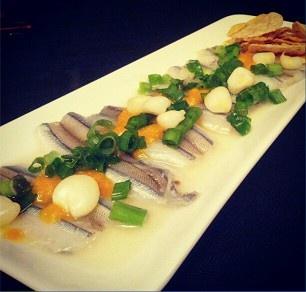 Tiradito de Pejerrey | First Tasting Dinner (Dec 8, 2012) | Photo: th3hungrycat