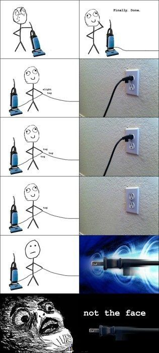 How Not to Pull The Cord... - Posted in Funny, Troll comics and LOL Images - Entertain Club