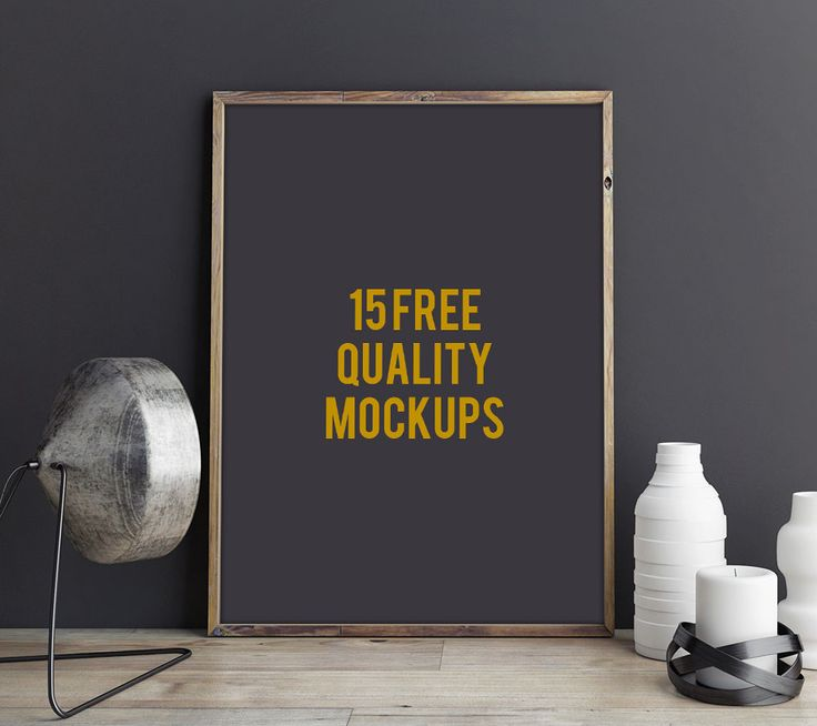 15 Free Quality Design Mockups For Displaying Your Designs Art Logos Photos