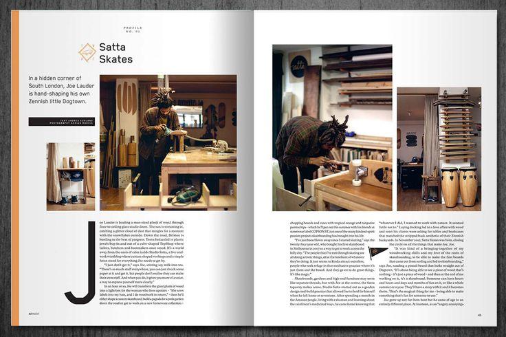 I do like @HUCKmagazine magazine's design & Layouts. Always engaging.... reminds me, must renew sub