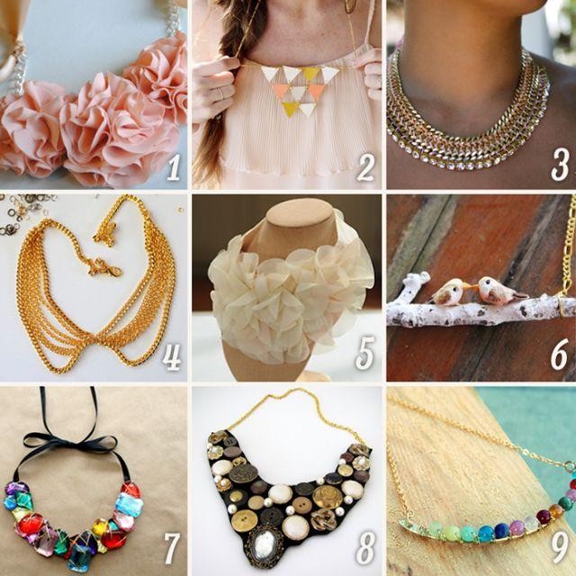 Necklace Collars ideas