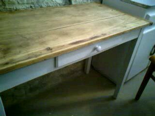 Table-bureau brocanté - AVANT transformation