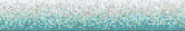 Frosted - Kaleidoscope ColorShift Glass Mosaic Tile Backsplash  Gradient