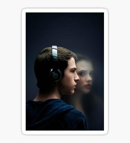 13 Reasons Why Poster Sticker