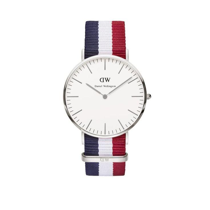Daniel Wellington Classic Cambridge 40mm Silver Watch